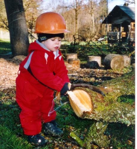 Holz sägen2